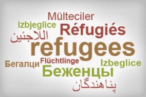 Tag Cloud Flüchtlinge