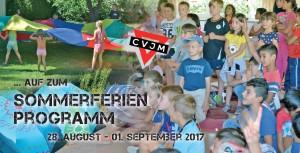VORNE Sommerferienprogramm 2017